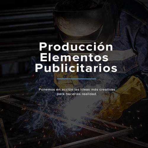 Producción elementos publicitarios