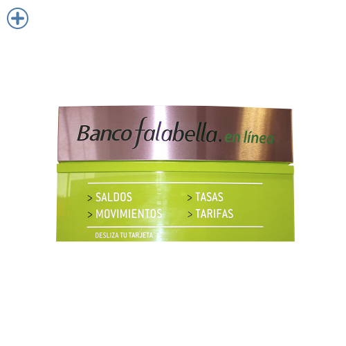 Implementación banco falabella